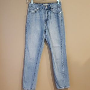 Madewell High Waisted The Perfect Summer Jean